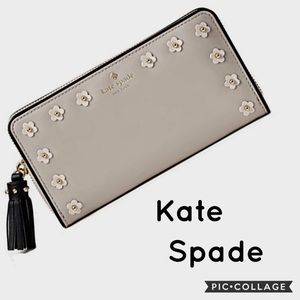 NWT Kate Spade Crescent Street Lacey Wallet